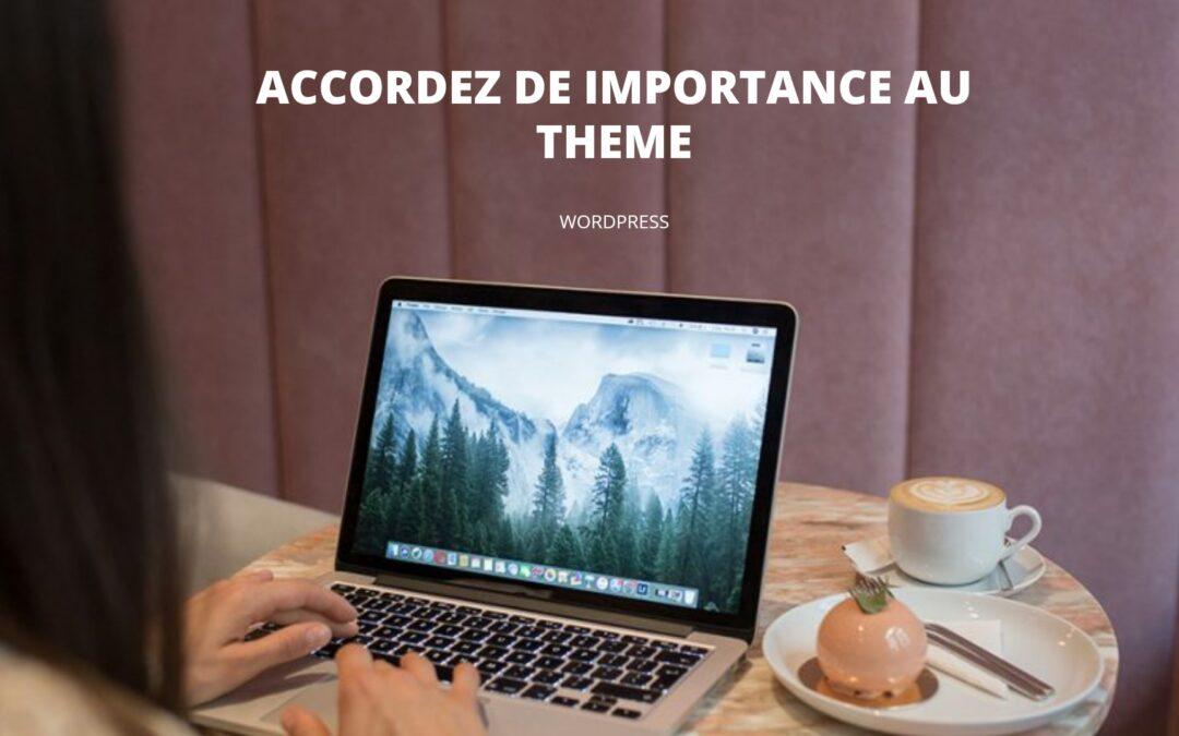 importance theme wordpress