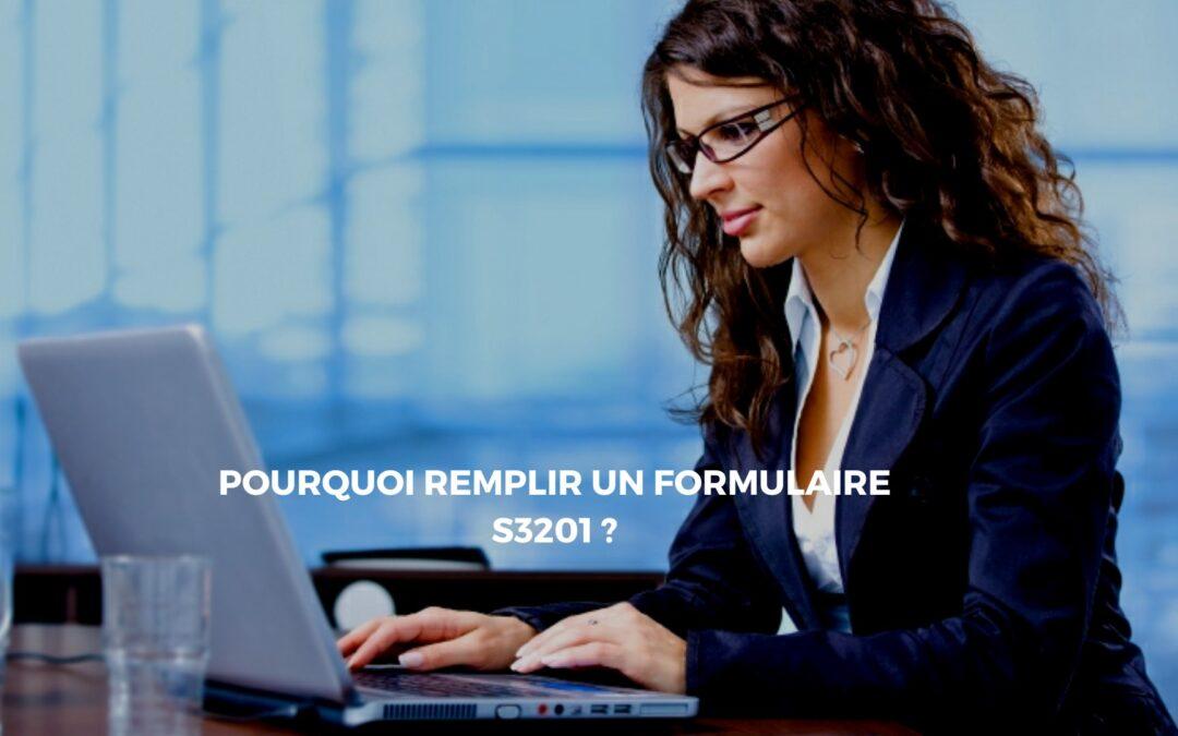 Formulaire s3201