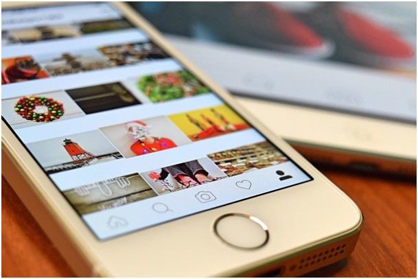 instagram sur mobile